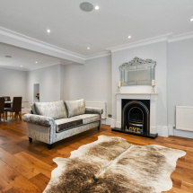greville road - living room